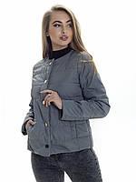 Женская демисезонная куртка Irvik KK135 оливковая