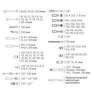 Профессиональный набор инструментов INTERTOOL ET-7101, фото 8