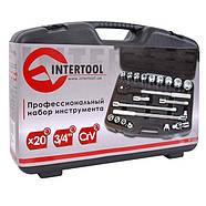 Профессиональный набор инструментов INTERTOOL ET-6023, фото 3