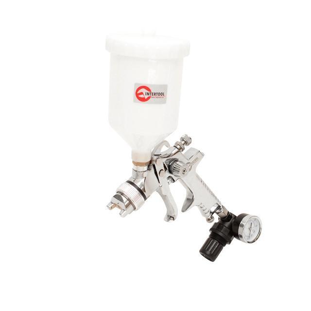 Краскораспылитель пневматический HVLP STEEL PROF KIT INTERTOOL PT-1505