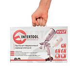 Краскораспылитель пневматический HVLP STEEL PROF KIT INTERTOOL PT-1505, фото 6