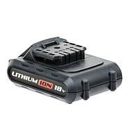 Аккумулятор Li-Ion 18В 1.3Ач для дрели-шуруповерта WT-0314/WT-0313 INTERTOOL WT-0315, фото 2