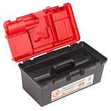 "Ящик для инструмента c фонарем 16"" 395*220*200 мм INTERTOOL BX-0017, фото 3"