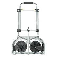 Тележка ручная складная до 100 кг, 420*480*980, колеса 170 мм, (алюминиевая) INTERTOOL LT-9012, фото 3