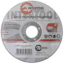 Круг отрезной по камню INTERTOOL CT-5002