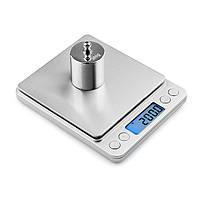 Професійні ювелірні ваги до 500(0,01)+2чаши