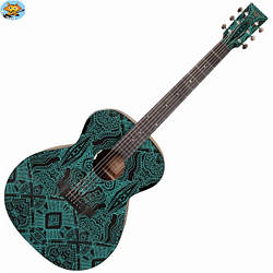 Электроакустическая гитара Tyma V-3 Maze