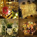 "Новогодняя гирлянда леска ""Роса"" RGB 10м 100 LED, фото 2"