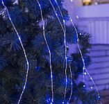 "Новогодняя гирлянда леска ""Роса"" RGB 10м 100 LED, фото 3"