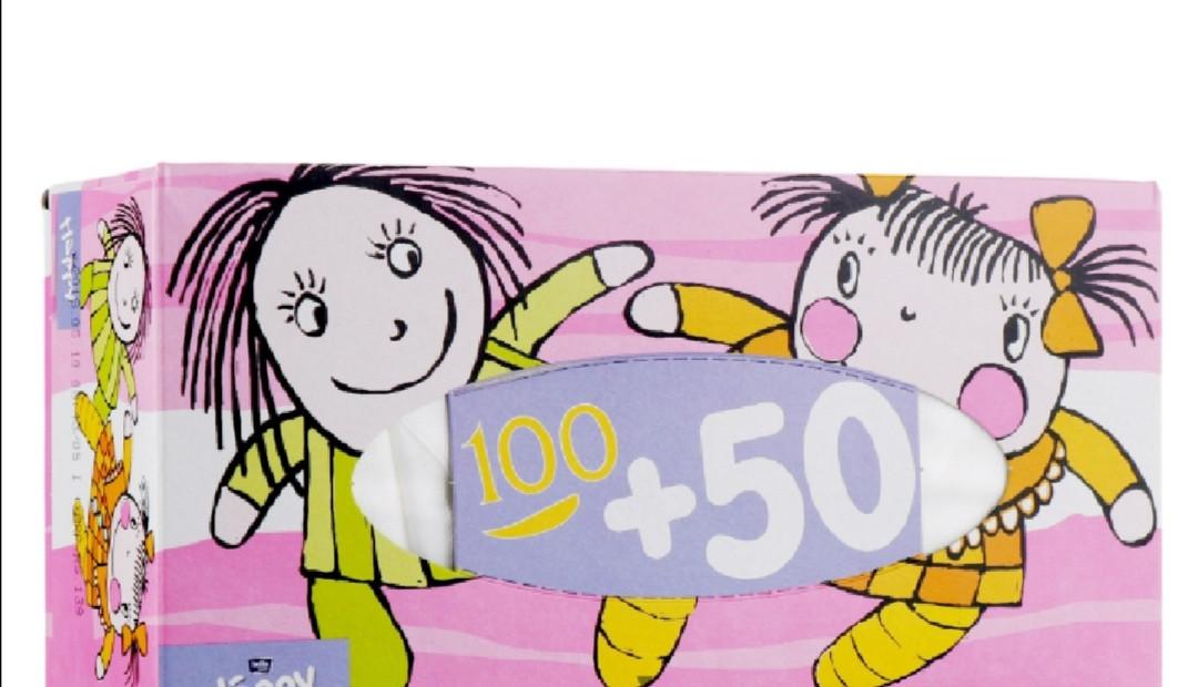 Салфетки косметические 150 листов