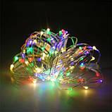 "Новогодняя гирлянда леска ""Роса"" RGB 10м 100 LED, фото 5"