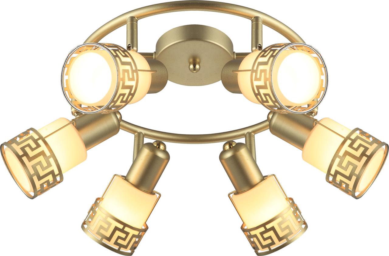 Светильник потолочный Altalusse INL-9330C-06 Greek Gold