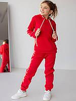 Стильный спортивный костюм (красный)