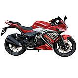 Спортбайк VENTUS VS200-9 200 см3 червоний, фото 2