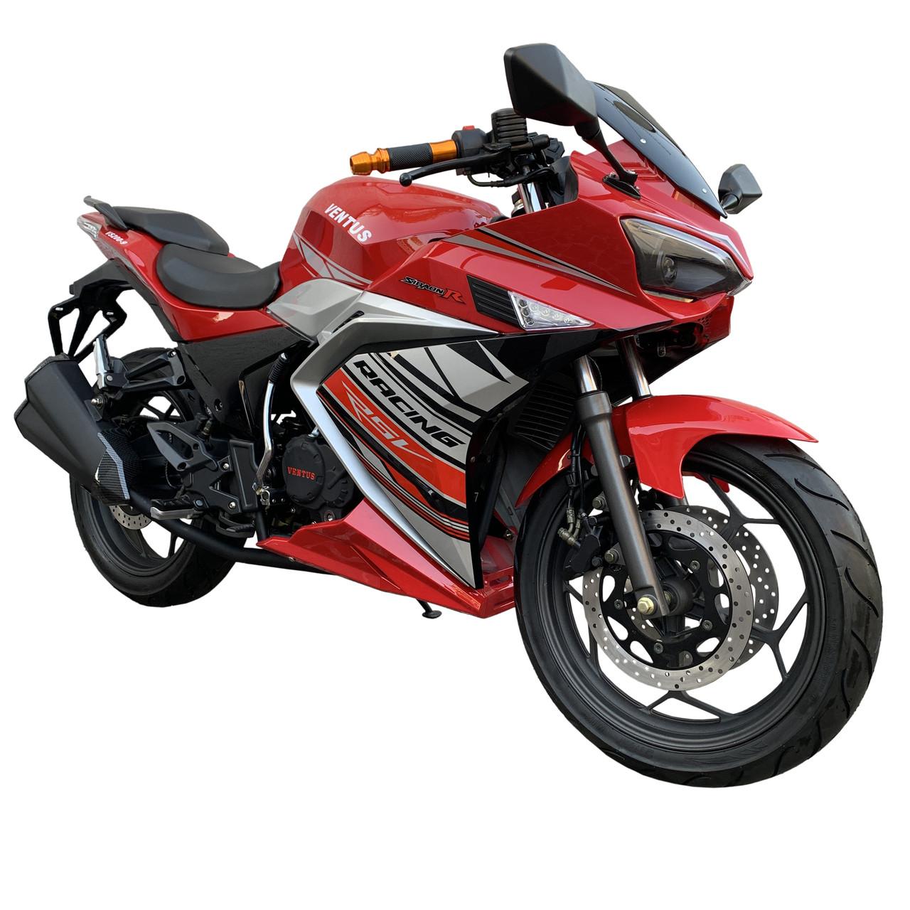 Спортбайк VENTUS VS200-9 200 см3 червоний