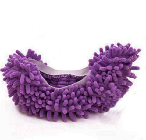 Чохли бахіли тапочки для прибирання фіолетові
