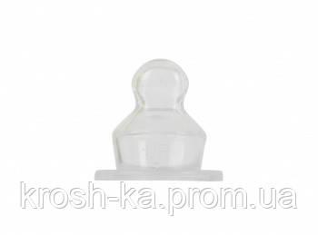 Соска силиконовая ортодонтическая 0м+ Baby Team 2220