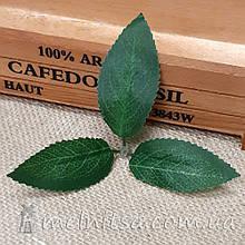 Искусственный лист ясеня тройной, ткань 11,5х10 см