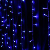 Гирлянда Штора 300 LED, 3х3 м, цвет - синий