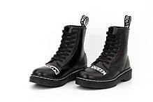 Зимние женские ботинки Dr.Martens Sex Pistols & Dr. Mart ns God Save the Queen. ТОП Реплика ААА класса., фото 2