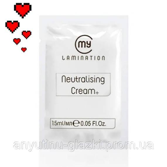 Склад №2 у саше 1,5 мл Neutralising Cream+ My Lamination для ламінування вій і брів