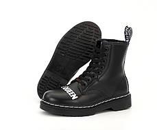 Демисезонные мужские ботинки Dr.Martens Sex Pistols & Dr. Mart ns God Save the Queen. ТОП Реплика ААА класса., фото 3