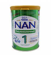 Смесь молочная сухая Nan кисломолочный 1с рождения 400гр Nestle Швейцария 12263560