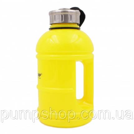 Бутылка Галлон Olimp Sport Nutrition 1100 мл желтая, фото 2
