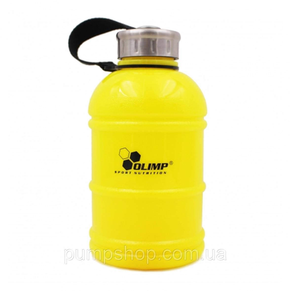 Бутылка Галлон Olimp Sport Nutrition 1100 мл желтая