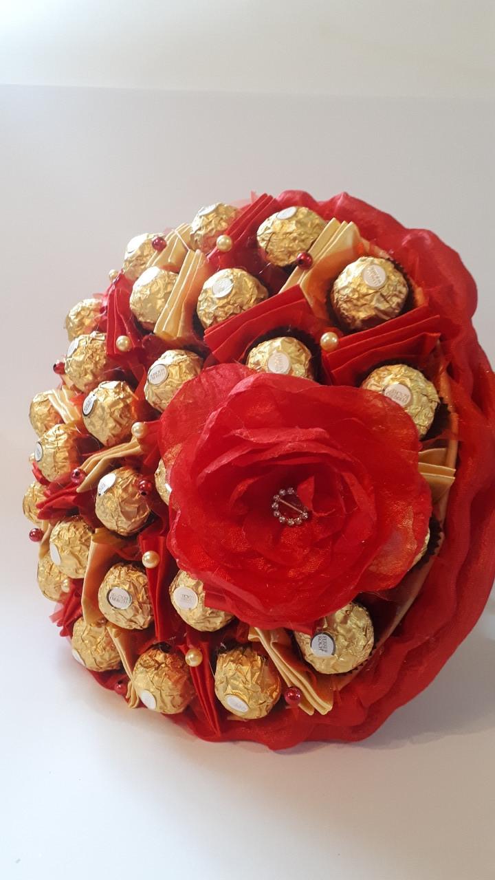 Букет из  конфет Ферерро Лас-Вегас
