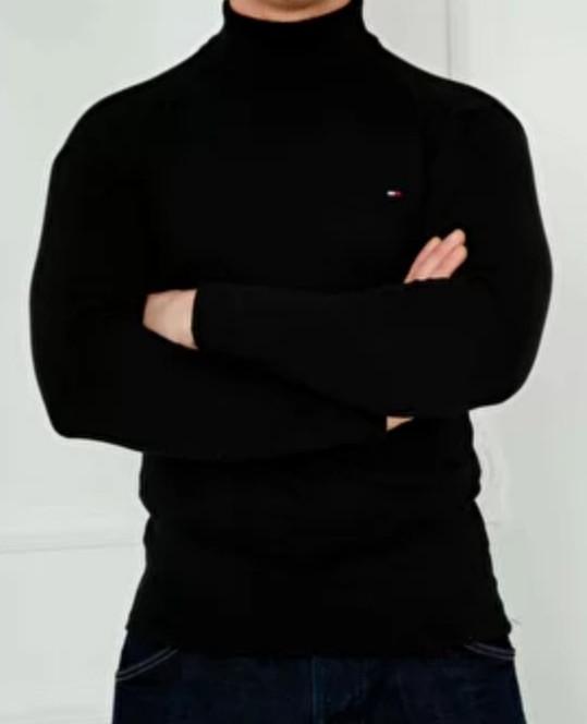 Гольф, водолазка теплий на флісі унісекс, великі розміри репліка TOMMY HILFIGER, Туреччина