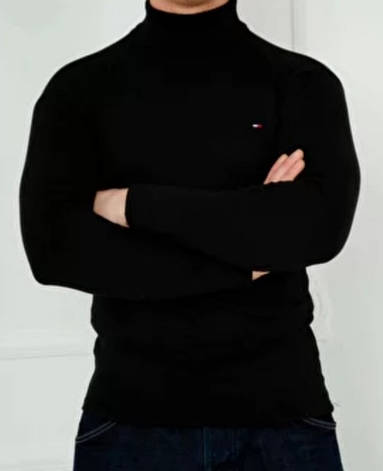 Гольф, водолазка теплий на флісі унісекс, великі розміри репліка TOMMY HILFIGER, Туреччина, фото 2