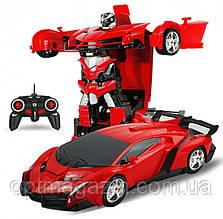 Машинка Трансформер Lamborghini Robot Car Size 18 на пульте