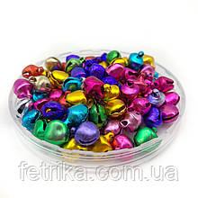 Бубенцы маленькие разноцветные 6 мм