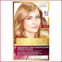 Краска для волос Loreal Exctllence 8.3