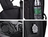 Світиться міський рюкзак Batman з USB зарядкою і кодовим замком, фото 2