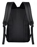 Світиться міський рюкзак Batman з USB зарядкою і кодовим замком, фото 3