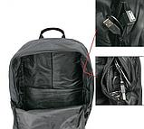 Світиться міський рюкзак Batman з USB зарядкою і кодовим замком, фото 4