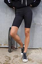 Велосипедки женские черные бренд ТУР модель Джин (Jin) размеры S,M,L S