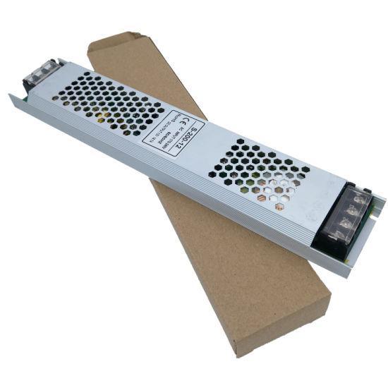 Блок питания Slim 120Ватт узкий | 10А 12В негерметичный IP20 | Гарантия 2года