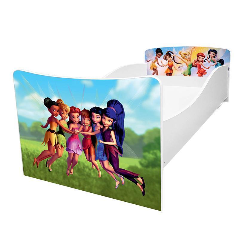 Кровать детская Kinder / Киндер 28 tinks с защитным бортиком ТМ Viorina-Deko