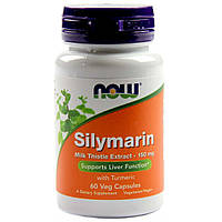 Силимарин (Расторопша) 150 Мг, Now Foods, 60 Капсул