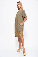 Женское Платье Хаки
