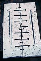 Мангал раскладной ,чемодан из нержавеющей стали на 10 шампуров. 2 мм. с чехлом и перчатками .