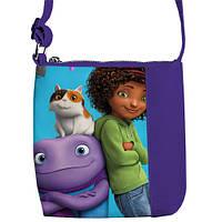 Яркая детская сумочка среднего размера