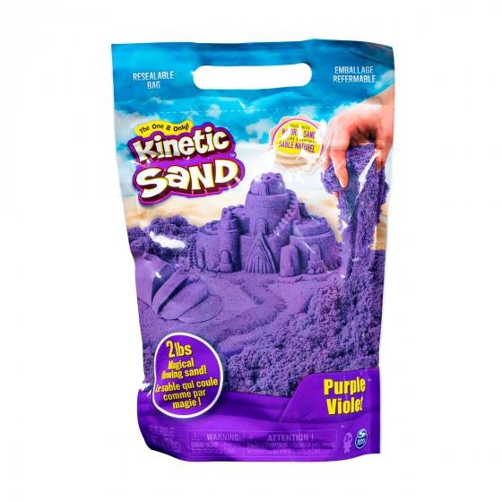 Песок для детского творчества - KINETIC SAND COLOUR (фиолетовый, 907 g) 71453P