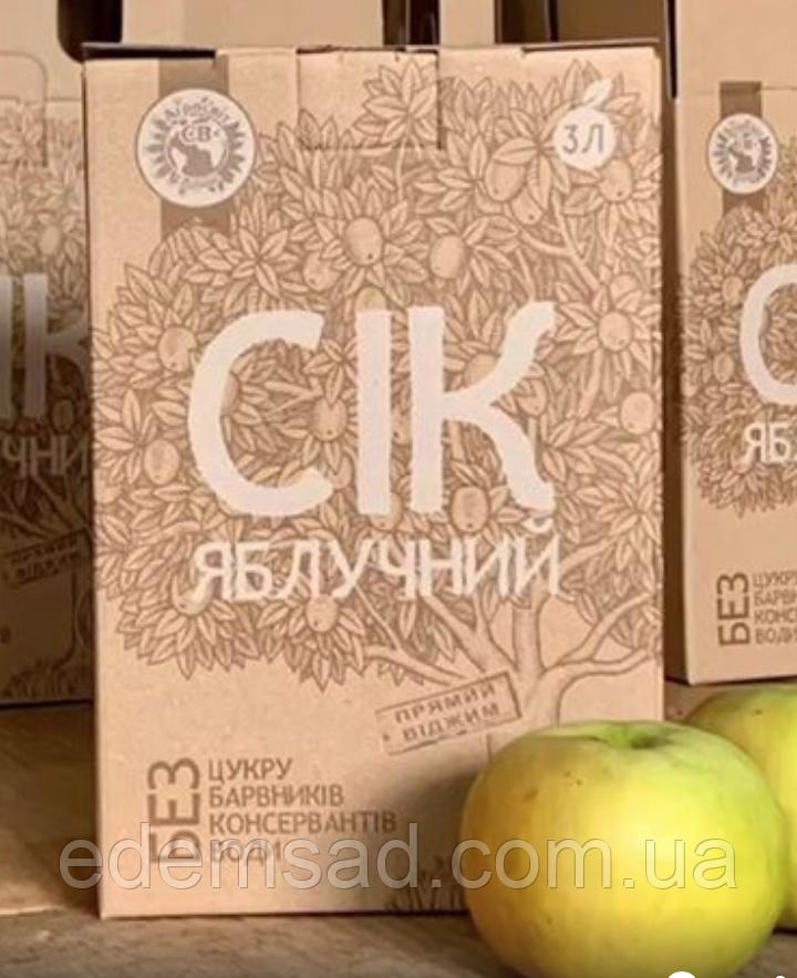 """Сік яблуко+лимон """"Агросвіт-СВ"""", 3 л"""