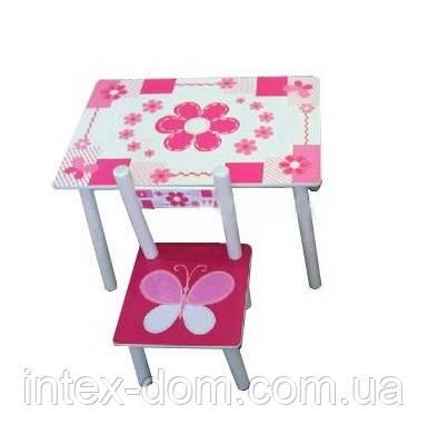 Дитячий столик зі стільчиками М 0730P
