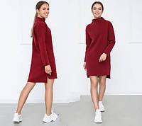 Женское зимнее платье на флисе Esse, фото 1