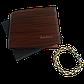 Подарунковий набір №8. Чоловіче портмоне (гаманець) Fuerdanni + чоловічий браслет Stainless Steel, фото 7